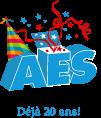 Logo AES 20 ans
